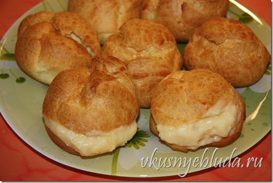 Заварной крем для пирожных Пти-Шу по рецепту моей бабушки
