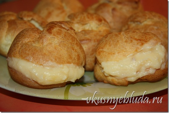 Приготовление Заварного крема для пирожных Пти-Шу...