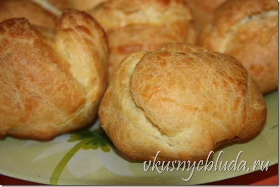 Подробное описание как приготовить *Пирожные Пти-Шу по рецепту моей Бабушки*