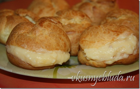 Изумительные французские Пирожные Пти-Шу, изготовленные по непревзойдённому Бабушкиному Рецепту...