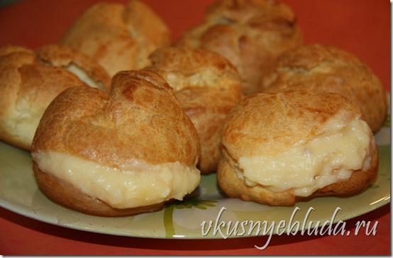 Прочтите, как сделать *Заварной крем для Пирожных Пти-Шу* по Бабушкиному Рецепту...