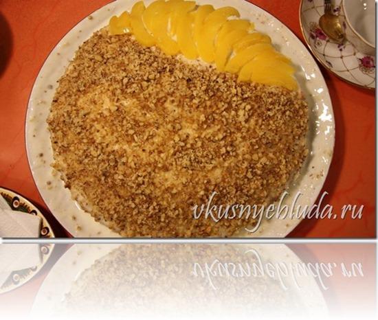 Кликните по картинке и Приготовьте самостоятельно по предложенному рецепту вкуснейший ТОРТ СОЛНЕЧНЫЙ - ещё один домашний торт со сметанным кремом...
