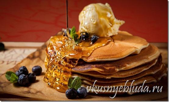 Ссылка этой картинки ведёт в домашний рецепт вкусных Гречишных блинов с Мёдом!..